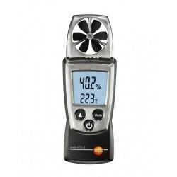 Testo 410-2 (0560 4102) - анемометр со встроенной крыльчаткой, сенсором влажности, сенсором температуры