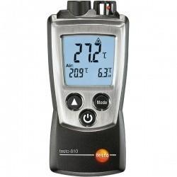 Testo 810 - 2-х канальный прибор измерения температуры с ИК термометром