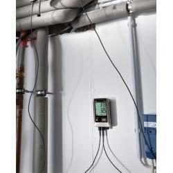 Testo 176 T4 - 4х-канальный логгер данных температуры с разъемами для внешних зондов (т/п типа T, K и J)