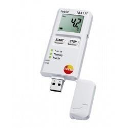 Тesto 184 G1 - логгер данных температуры, влажности и ударной нагрузки