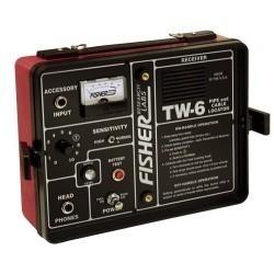 Локатор труб и кабелей/глубинный металлоискатель Fisher TW-6