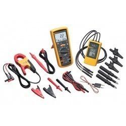Fluke 1587MDT - комплект мультиметра-мегометра + токовые клещи + индикатор чередования фаз