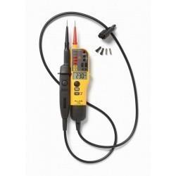 Fluke T150/VDE - тестер напряжения/целостности с ЖК-дисплеем, омметром и переключаемой нагрузкой (версия VDE)