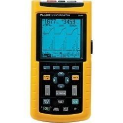 Fluke 123/S - осциллограф промышленный портативный 20 МГц