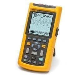 Fluke 124/S - осциллограф промышленный портативный 40 МГц