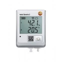 Testo Saveris 2-H2 (0572 2005) - WiFi-логгер данных с дисплеем и подключаемым внешним зондом температуры/влажности