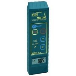 MZC-200  измеритель параметров цепей фаза-нуль и фаза-фаза электросетей