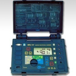 MRU-101  измеритель сопротивления ЗУ, молниезащиты, проводников присоединения к земле, выравнивания потенциалов