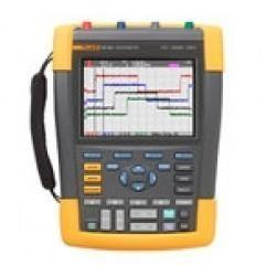 Fluke 190-504 — четырехканальный цветной портативный осциллограф-мультиметр
