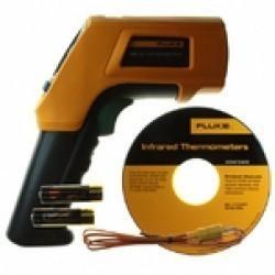 Fluke 566, инфракрасный и контактный термометр