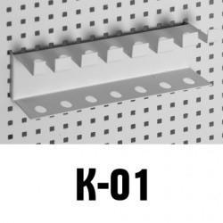 Дополнительное оборудование перфорированной панели