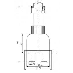 Сигнализатор уровня осадка СО-2