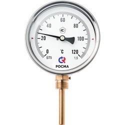 Термометры БТ общетехнические (радиальное присоединение) (РОСМА)