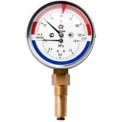 Термоманометры ТМТБ радиальные (РОСМА)