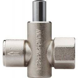 Кнопочный клапан VE-2 из латуни (РОСМА)