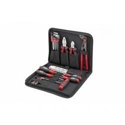 Профессиональный набор инструментов Wiha Premium Selection для механиков в сумке, 29 предметов