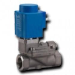 Электромагнитные клапаны высокой производительности с сервоприводом для работы с агрессивными и загрязненными средами EV222B
