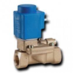 Электромагнитные клапаны высокой производительности с сервоприводом для работы с большими перепадами давления EV224B