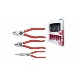 Профессиональный набор шарнирно-губцевого инструмента Wiha Classic, 3 предмета