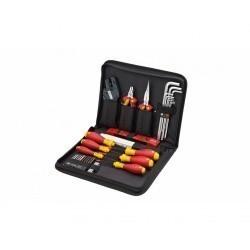 Профессиональный набор VDE инструментов Wiha для обслуживания распределительных шкафов, 31 предмет