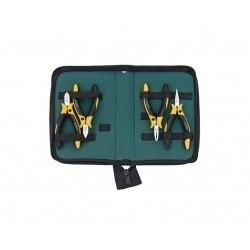 Профессиональный набор шарнирно-губцевого инструмента Wiha Professional ESD, 4 предмета