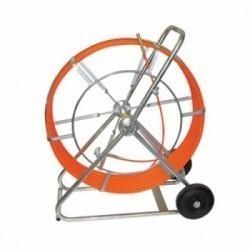 Гибкий стержень на барабане для поиска п/э трубопроводов FlexiTrace, длина 50м для приборов Radiodetection — аксессуар