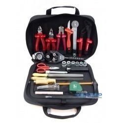 Набор инструмента для разделки кабеля из сшитого полиэтилена диаметром до ø45 мм НИР-СПЭ-01