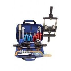 Набор инструмента для разделки кабеля из сшитого полиэтилена диаметром от 40 до 150мм НИР-СПЭ-02