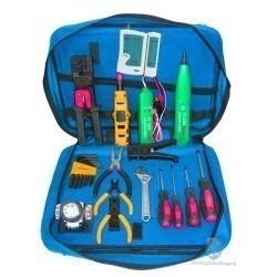 Набор инструментов для обслуживания телефонных и компьютерных сетей Hobbes HT-6713