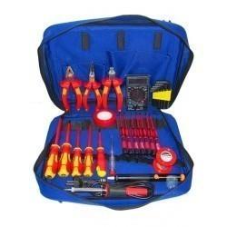 Набор инструментов электрика для высоковольтных работ до 1000В Pro
