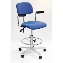 АРМ-3505-500 Кресло антистатическое с маленькой спинкой