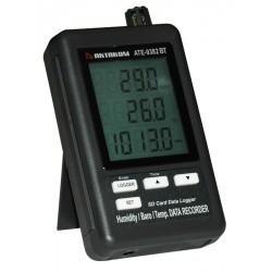 АТЕ-9382BT — измеритель-регистратор температуры, влажности, давления с Bluetooth интерфейсом