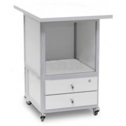 АРМ-5075 — стол подкатной с 2-мя ящиками с лицевыми панелями и замком