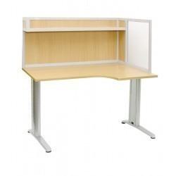 АРМ-4455-П — стол для офиса с эргономичной столнешницей