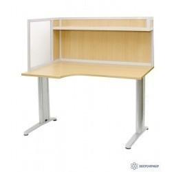 АРМ-4455-Л — стол для офиса с эргономичной столешницей