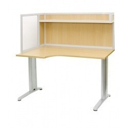 АРМ-4425-Л — стол для офиса с эргономичной столешницей