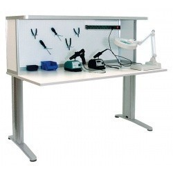 АРМ-4115-ESD — стол монтажника радиоаппаратуры с антистатической столешницей