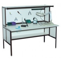 АРМ-4110-ESD — стол монтажника радиоаппаратуры с антистатической столешницей