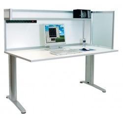 АРМ-4455-ESD — стол инженера/менеджера с антистатической столешницей