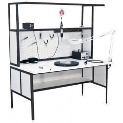 АРМ-4320-ESD — стол слесаря-сборщика радиоаппаратуры с антистатической столешницей