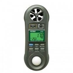 Extech 45170 - Портативный прибор для измерения влажности/ температуры/ скорости движения воздуха/ освещенности