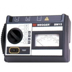 Аналоговый мегаомметр BM 15