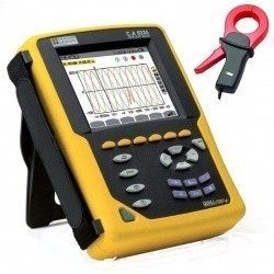 C.A 8336 QUALISTAR PLUS+C193 — анализатор параметров электросетей, качества и количества электроэнергии (с клещами C193)