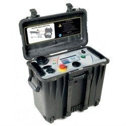 HVA34-1 — портативная система высокой мощности для высоковольтных испытаний напряжением СНЧ, 34кВ