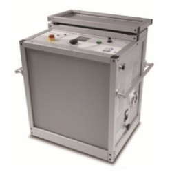 HVA90_19 - высоковольтная СНЧ установка для испытаний кабелей с изоляцией СПЭ, 90 кВ в стойке 19