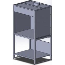 Лабораторный вытяжной шкаф-зонд ТЕРМЭКС ШЗВ-СТЛ.150.КРГ