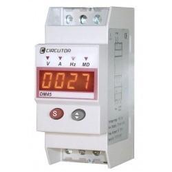 Цифровые приборы серии DM 45 на DIN рейку