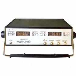 Манометр цифровой прецизионный двухканальный МЦП-2-0,3