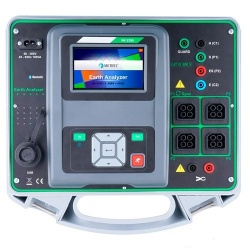 MI 3290 GX1 — анализатор заземления (комплект с двумя железными клещами и одними гибкими клещами)