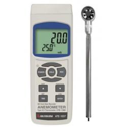 АТЕ-1037 — анемометр-регистратор с телескопической миникрыльчаткой